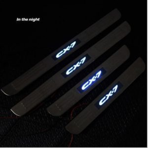 Mazda CX7 Scuff Plates with LED2