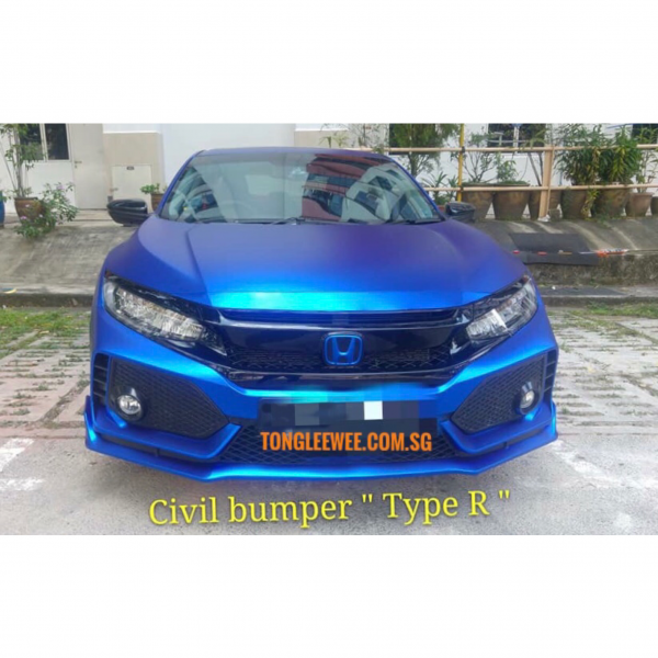 Civic Front Bumper -1