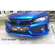 Civic Front Bumper -2