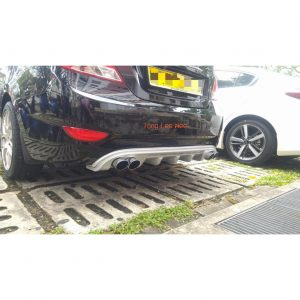 Accent Rear Bumper Diffuser