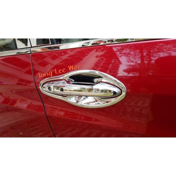 Vezel Door Handle & Bowl Chrome 1