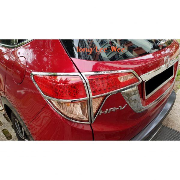 Vezel Tail Light Chrome Trimming 1